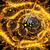 fractal illustration background gold swirl of the birth of the u stock photo © yurkina