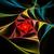 illustration background fractal colorful spiral satin silk stock photo © yurkina