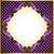 arany · ibolya · virágmintás · keret · klasszikus · áttetsző - stock fotó © yurkina