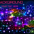 bright shiny neon background with circles and lines stock photo © yurkina