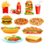 cachorro-quente · salsicha · alface · mostarda · gotas · ketchup - foto stock © yurkina