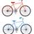 silhouet · mensen · fietsen · vrouwelijke · mannelijke · fietsen - stockfoto © yurkina