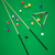 ビリヤード · 三角形 · 緑 · 表 · 3次元の図 - ストックフォト © zarost