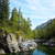 rio · profundo · montanha · floresta · parque · Romênia - foto stock © zastavkin