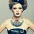 nő · szokatlan · ruha · furcsa · bizarr · fagylalt - stock fotó © zastavkin