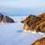 рок · острове · озеро · зима · время · небе - Сток-фото © zastavkin