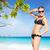 девушки · воды · пляж · острове · тайский · Таиланд - Сток-фото © zastavkin