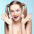 verspielt · Sommersprossen · Mädchen · schönen · blau · Frau - stock foto © zastavkin