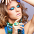 женщину · бижутерия · портрет · красивой · вьющиеся · волосы - Сток-фото © zastavkin