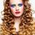 woman with long golden hairs stock photo © zastavkin