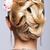 sarışın · kadın · bijuteri · geri · yan · güzel · gri - stok fotoğraf © zastavkin