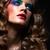splendente · donna · occhi · trucco - foto d'archivio © zastavkin
