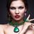 beautiful · girl · enfumaçado · olhos · lábios · vermelhos · belo · mulher · jovem - foto stock © zastavkin