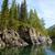 rivière · montagne · ciel · bois · forêt · nature - photo stock © zastavkin