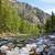 rivière · une · belle · montagne · ciel - photo stock © zastavkin