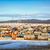 деревне · озеро · небе · дома · пейзаж · снега - Сток-фото © zastavkin