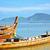 halászat · hajók · tenger · Thaiföld · Phuket · felhők - stock fotó © zastavkin