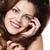 女性 · 長い · ブラウン · きれいな女性 · ストレート · 茶色の髪 - ストックフォト © zastavkin
