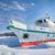 jég · jacht · tél · kockák · tó · nap - stock fotó © zastavkin