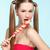 красивая · девушка · конфеты · красивой · женщину - Сток-фото © zastavkin