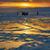 зима · закат · озеро · небе · автомобилей · снега - Сток-фото © zastavkin