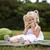 ritratto · bambina · mangiare · anguria · giovani - foto d'archivio © zdenkam