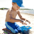 adorable · bebé · nino · playa · retrato · placer - foto stock © zdenkam