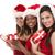 güzel · Noel · yıl · güzel · bir · kadın · noel · ağacı · beyaz - stok fotoğraf © zdenkam