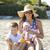 семьи · сидят · пляж · улыбаясь · девушки · детей - Сток-фото © zdenkam