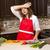 исчерпанный · женщину · Постоянный · кухне · молодые - Сток-фото © zdenkam
