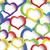 sin · costura · colorido · corazones · patrón · día · resumen - foto stock © zebra-finch