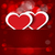 sparkling hearts stickers vector stock photo © zebra-finch
