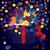 mágikus · ajándék · doboz · ki · buli · szeretet · születésnap - stock fotó © zebra-finch