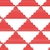 3d white striped triangles with red stock photo © zebra-finch