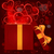 magic light gift box hearts vector stock photo © zebra-finch