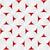 3d white striped semi circles with red stock photo © zebra-finch