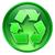 リサイクル · シンボル · アイコン · 緑 · 孤立した · 白 - ストックフォト © zeffss
