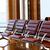 luchthaven · 3d · render · venster · kamer · Blauw · stoel - stockfoto © zeffss