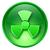 radiação · ícone · azul · vermelho · assinar · segurança - foto stock © zeffss