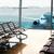 repülőgép · kilátás · fehér · rámpa · repülőtér · égbolt - stock fotó © zeffss