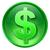доллара · икона · зеленый · изолированный · белый · бизнеса - Сток-фото © zeffss