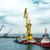 haven · vracht · zee · technologie · Blauw · boot - stockfoto © zeffss