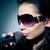 dziewczyna · śpiewu · młoda · kobieta · etapie · muzyki - zdjęcia stock © zeffss