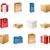 sacos · caixas · papel · caixa · saco · dom - foto stock © zelimirz