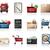 vásárlás · ikon · gyűjtemény · ikonok · pénz · laptop · telefon - stock fotó © zelimirz