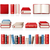 livros · ícones · papel · livro · educação · abrir - foto stock © zelimirz