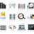 teia · hospedagem · ícones · internet · rede · dados - foto stock © zelimirz