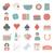ícones · jogos · de · azar · dinheiro · cassino · cartões · numerário - foto stock © zelimirz