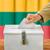 homem · votar · cédula · caixa · eleição · votação - foto stock © zerbor