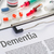 the diagnosis dementia written on a clipboard stock photo © zerbor